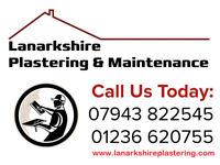 Lanarkshire Plastering: Discounts & Prices from (Bedrooms £230+ 4Bedroom walls £160+ Ceilings £120+
