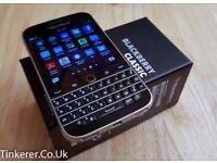 BlackBerry Classic UK Factory UNLOCKED 4G Smartphone (QWERTY Keyboard) - Black