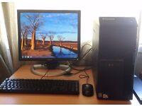 """Lenovo Thinkthentre Desktop PC - 2.50GHz Dual Core, 4GB, 250GB, Win 7 & 19"""" Monitor"""