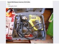 Ryobi SDS Rotary hammer drill 240v