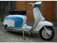 Lambretta for sale. Total restoration.