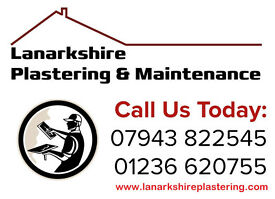 Lanarkshire Plastering: Discounts & Prices from (Bedrooms £230+ 4Bedroom walls £160+ Ceilings £120+