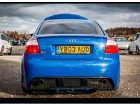 Audi s4 b6 4.2 v8 rare 6 speed. clutch 6k ago