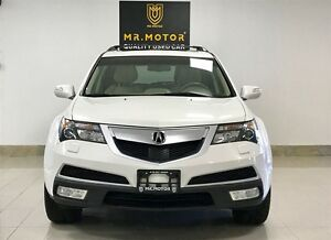 2013 Acura MDX Elite Pkg,ONE OWNER,ACCIDENT FREE,NAVI,DVD,CAMERA