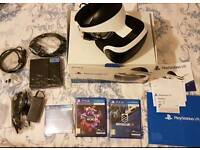 Like New PlayStation 4 PS VR + 2 Games