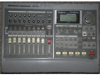 Roland VS 880EX Digital 8 track recorder
