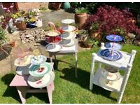 Cake Stands Made from Vintage China