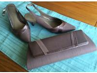 Jacques Vert shoes size 37 and matching bag