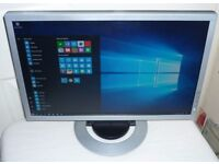 """AOC 12 Volt / Mains Widescreen 19"""" LCD Computer Monitor with Tilt Stand"""