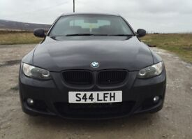 BMW 320d M Sport Coupe Red Leather