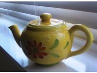 Starbucks hand painted teapot made exclusively in Italy