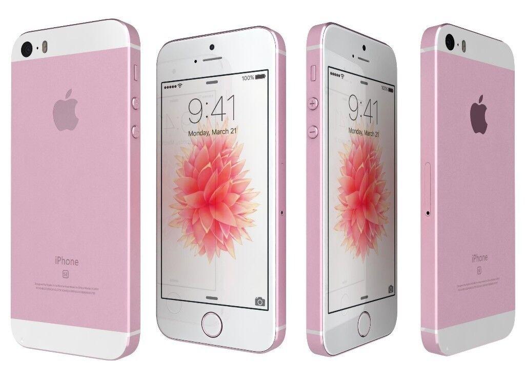 Nye BRAND NEW,Apple iPhone SE-32GB -ROSE GOLD - Unlocked IC-83