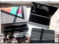Nexus 7 Tablet/BT Keyboard/Docking Station/Case Bundle