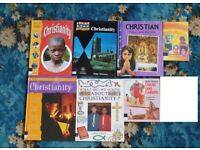 7 Christianity books including Jesus Christ, Bible Stories, New Testament, Gospel, Religious Books