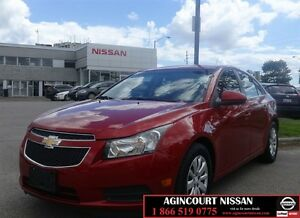 2011 Chevrolet Cruze LT Turbo |One Owner|No Accidents|