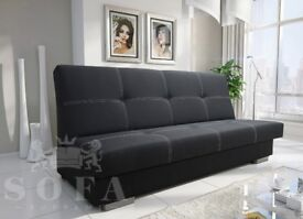 "New Sofa Bed ""CLaudia' with storage"