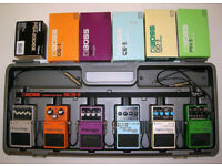 Boss BCB-6 guitar pedal board / hard case - MIJ / 1990s