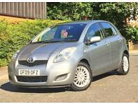2009 09 REG TOYOTA YARIS TR 1.4 D-4D 6 SPEED MANUAL £20 ROAD TAX 11 MONTHS MOT + SERVICED