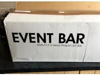 Dj led light , moving head, adj / elation event bar
