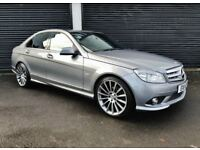 2011 MERCEDES C220 CDI SPORT BLUEEFFICIENCY AUTO NOT BMW 320D M SPORT AUDI A4 A5 A6 S LINE GOLF LEON