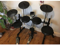 Alesis DM6 USB Kit Electronic Drumset , Snare , Bass Drum , Tom-Toms , Hi-Hat , Cymbals , Bass Pedal