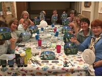 Art On Slate Painting Workshop.