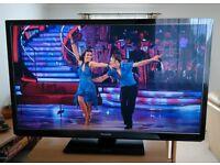"50"" Plasma TV Panasonic TX-P50GT30B 1080p 3D Glasses THX certified FreeviewHD FreesatHD MAKE OFFER"