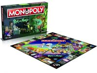 Rick and Morty Monopoly Board Game (New)