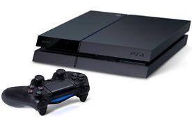 Sony PlayStation 4 / PS4 - 500 GB Jet Schwarz Spielkonsole