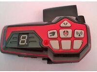 retro power rangers electronic toy