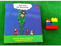 A Lego Duplo Book Jack and the Beanstalk