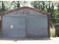 Secure Industrial Unit available to rent just off A55 in Afonwen, Flintshire, North Wales.