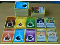Pokemon energy and trainer cards