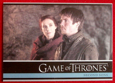 GAME OF THRONES - SECOND SONS - Season 3, Card #24 - Rittenhouse - 2014