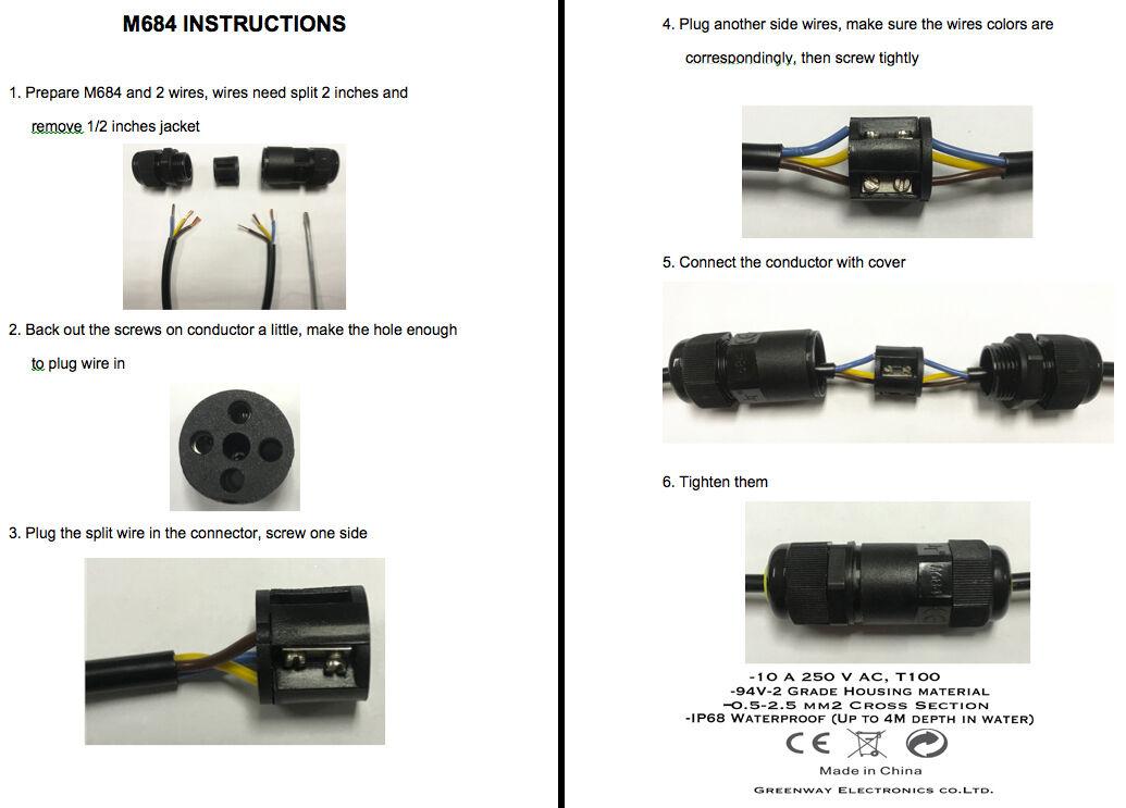 Pleasing Underground Cable Wire Connectors Junction Box Outdoor Waterproof 2 Wiring Digital Resources Counpmognl
