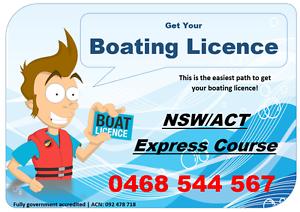Penrith Boating Licence Course Penrith Penrith Area Preview