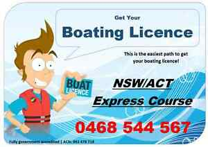Boating Licence Course  -Sydney Homebush Strathfield Area Preview