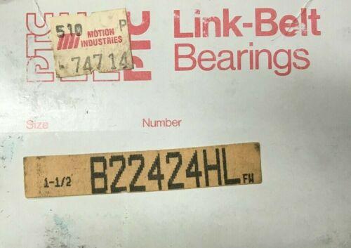 B22424HL Linkbelt New Roller Insert Bearing