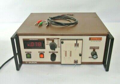 Gilson 111b Uv Detector W Power Supply