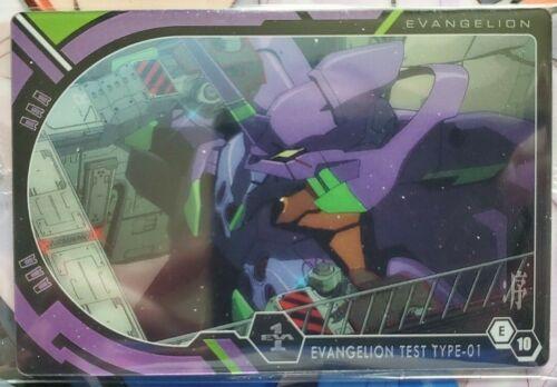 EVA 1 Test Type-01 Rebuild of Evangelion Wafer Card Vol 1 E10 Bandai NEW