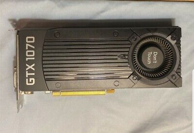 NVIDIAGeForce GTX 1070 8GB by Zotac Graphics Card | Fast Ship, Cleaned, Tested!