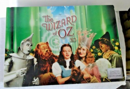 Wizard Of Oz 3D 75th Anniversary DVD box set with collectible ornaments