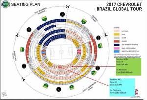 1 X Platinum, Brazil vs Argentina 9th June 2017 Section M14 Melbourne CBD Melbourne City Preview