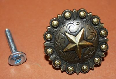 ((4), Western Cabinet Drawer Pulls, Lone Star, Texas Cabinet Pulls,set of 4,HW-35)