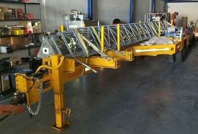 Utility Power Telephone Pole Trailer Cz Engineering Cz12kp