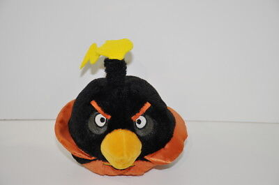 Angry Birds Angry Birds In Space Black Bomb Bird 2011 Commonwealth Plush