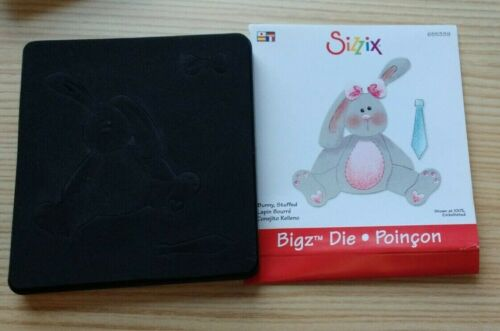 Sizzix Stuffed Bunny Rabbit 655339 Die ~ A2