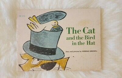 Cat And The Hat Hats (The Cat And The Bird In The Hat By Norman Bridwell, Vintage 1964 scholastic)