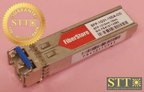 Sfp-1g31-10da-co Fiber Store 1000base-lx/lh Sfp 1310nm 10km Ext Ddm Transceiver