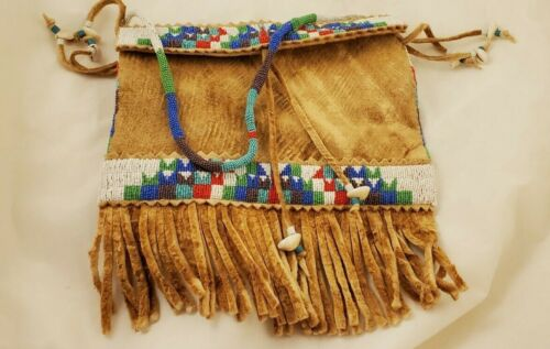 Sioux Indian Beaded Bag